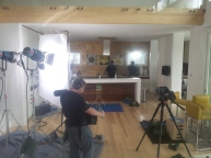 Indoor BlueHost Shoot