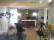 Indoor BlueHost Shoot